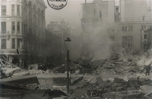 Photo:King Street, St James's SW1, February 1944